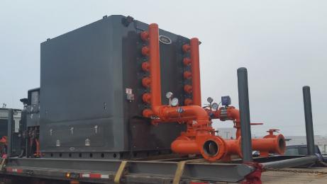 Frac Fluid Heaters | Hellian Oilfield Services